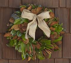 pottery barn knock magnolia wreath the happier homemaker