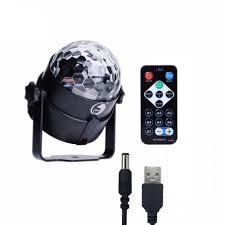 mini disco ball light u king mini disco rotating crystal ball light led rgb stage lighting