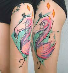 50 flamingo tattoo ideas nenuno creative