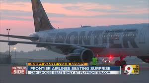 Frontier Carry On by Frontier Airlines Seating Surprise Youtube