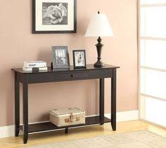convenience concepts oxford console table convenience concepts oxford console table espresso in espresso