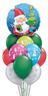 santa balloon delivery 10 balloons christmas colors balloon bouquet delivery in dubai abu