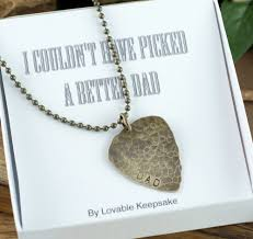 Engraved Guitar Pick Necklace Personalized Guitar Pick Guitar Pick Necklace Hand Stamped