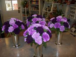 purple wedding centerpieces centerpieces for wedding receptions photo gallery photo of