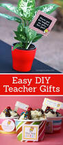 easy diy teacher gifts crafts other and gifts