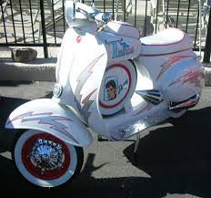 modern vespa vintage owners show off your custom paint jobs