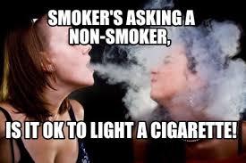 Smokers Meme - meme maker second hand smoke generator