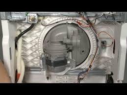 dishwasher noisy circulation pump motor housing w10782773 youtube
