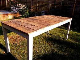 Make Your Own Reclaimed Wood Desk by Tips For Making Your Own Outdoor Furniture Wooden Tables