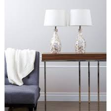 Lighting Fixtures Ta Abbyson Of Pearl Table L Set Of 2 Free Shipping