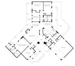 southwest style house plans unique ranch home in y shape design plan 095d 0044