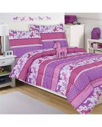 Unicorn Bed Set Deal On Unicorn Sky 4 Comforter Set In Purple Pink