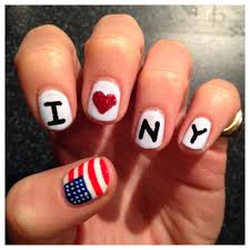 new york marathon nail art the runner beans