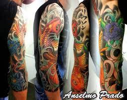 tattoo japanese koi sleeve koi sleeve tattoo pinterest koi tattoo and japanese sleeve