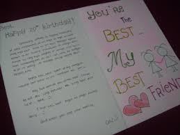 happy birthday letter to a friend jerzy decoration