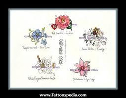 small japanese flower tattoos