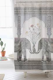Cynthia Rowley Decorative Elephant Shower Curtain