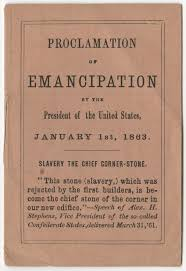 thanksgiving day proclamation the emancipation proclamation a miniature edition of the document