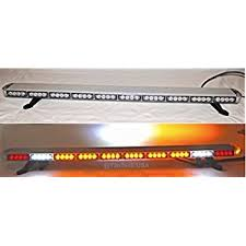 police led light bar amazon com condor tir emergency 3 watt low profile roof mount