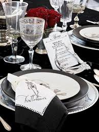Elegant Table Settings Picture Of Spooky But Elegant Halloween Wedding Table Settings