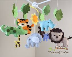 Monkey Rug For Nursery Safari Baby Mobile Animals Baby Crib Mobile Neutral