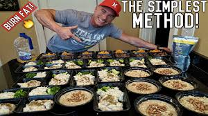 how to meal prep for the entire week bodybuilding shredding diet