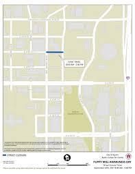 Austin Downtown Map by Austin Weekend Street Closures Pecan Street Festival And Susan G