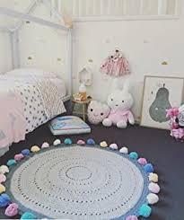 kinderzimmer teppich rund de kinder spiel teppich schmetterling türkis rund in 7 größen