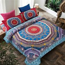 mandala bedding set elephant messenger indian duvet cover wiith