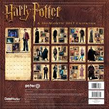 harry potter wall calendar walmart com