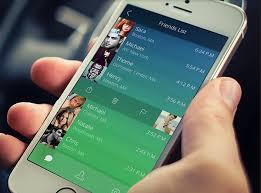 design application ios social app friends list on behance ios ui set ios 8 app design