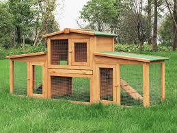Rabbit Hutch Makers Rabbit Hutch With Lockable Door