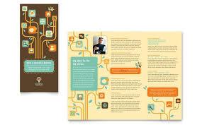 tri fold brochure templates word free tri fold brochure template