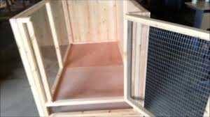Make Rabbit Hutch Indoor Rabbit Cage Pen Youtube