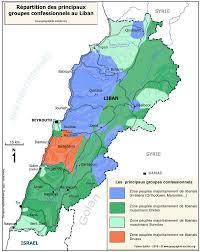Map Of Lebanon Impressum