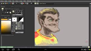 Best Painting Caric01 Best Painting App On Android Tvpaint Beta Youtube