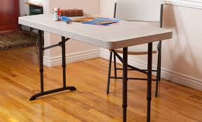 Lifetime Adjustable Table Table Great Folding Metal Table Legs With 17 Smart Adjustable