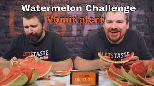 Challenge Vomit Watermelon Challenge Vomit Alert