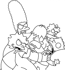 halloween coloring pages printables coloring pages download coloring pages the simpsons coloring