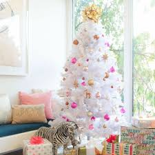 white christmas tree emily henderson fall winter