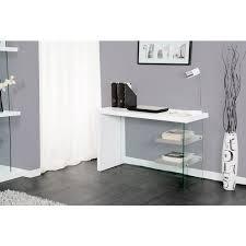 bureau gris laqué bureau blanc et gris cdiscount bureau laque foxy blanc gris