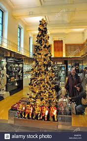 Christmas Decorations Shop Covent Garden by Christmas Tree In Shop The British Museum Great Russell Street