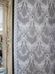 Antique Lace Curtains Antique Net Lace Curtain Panel