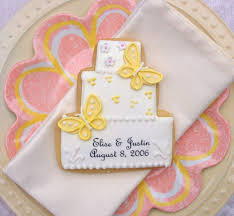 wedding cake kit butterfly cookie wedding cake cookies gifts and favors