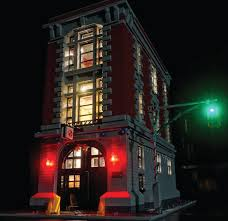Lego Headquarters Led Lighting Kit For Lego Ghostbusters Firehouse Headquarters