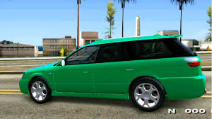 subaru station wagon 2000 subaru legacy station wagon gta mod youtube
