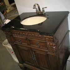 White Bathroom Vanity With Black Granite Top - vanity top granite shanxi black vanity tops for bathroom black