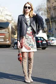 robe en dessous des genoux comment porter le collant résille avec style les éclaireuses