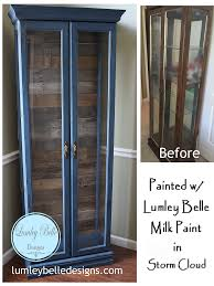 reclaimed wood curio cabinet painted curio cabinet the barn wood pallet wood reclaimed wood
