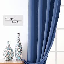 Royal Blue Blackout Curtains Unique Royal Blue Curtains 2018 Curtain Ideas